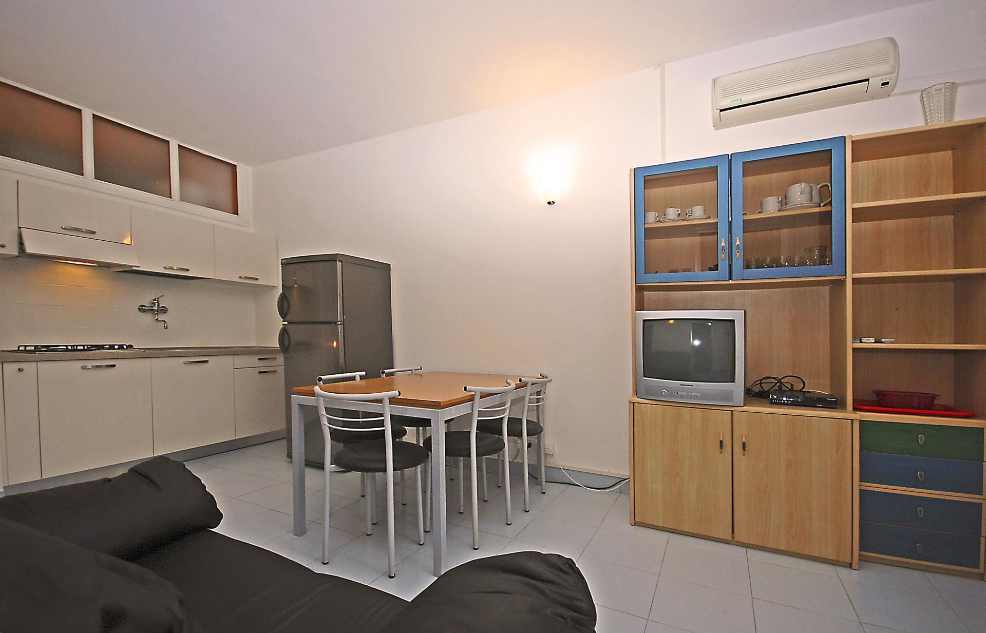 Apartm n d quadri 7 residence dune dovolen v it lii for Bagno 7 bis lignano pineta