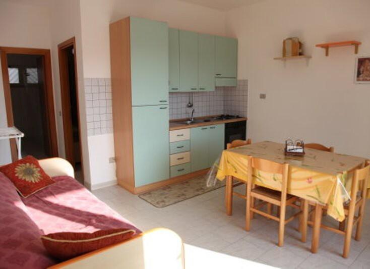 Apartmány Le Castella