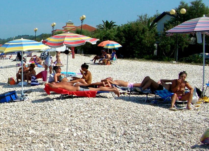 Torino di Sangro, pláž Borgata Marina