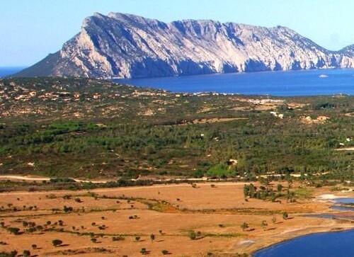 Oblast San Teodoro, v pozadí ostrov Tavolara