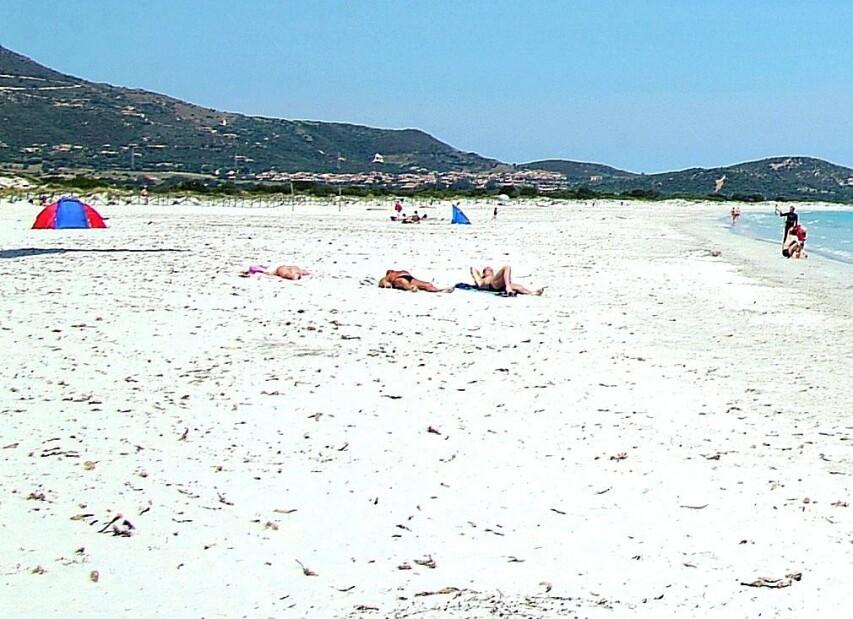 San Teodoro, pláž La Cinta