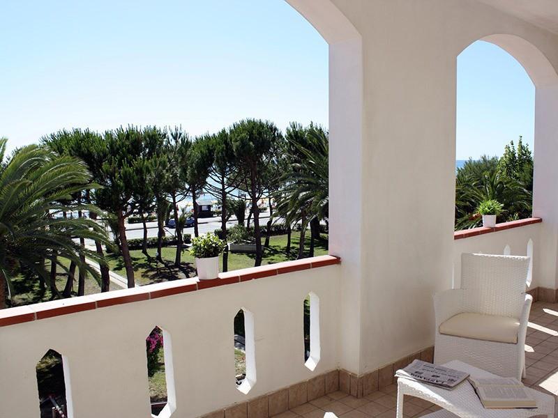 Hotel San Remo - Martinsicuro, Villa-Rosa - Terasa-pokoj MARE s výhledem