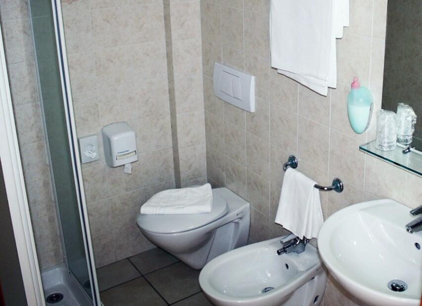 Hotel San Remo - Martinsicuro, Villa-Rosa - Koupelna pokoje MARE, CLASSIC