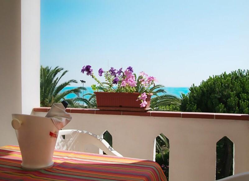 Hotel San Remo - Martinsicuro, Villa-Rosa - Balkon-pokoj MARE s výhledem