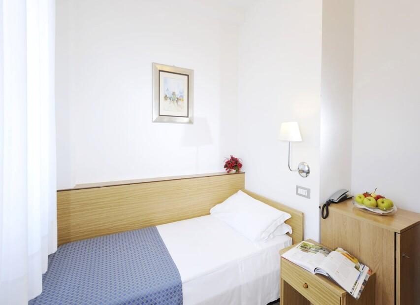 Hotel Palace**** Bibione Spiaggia - jednolůžkový pokoj