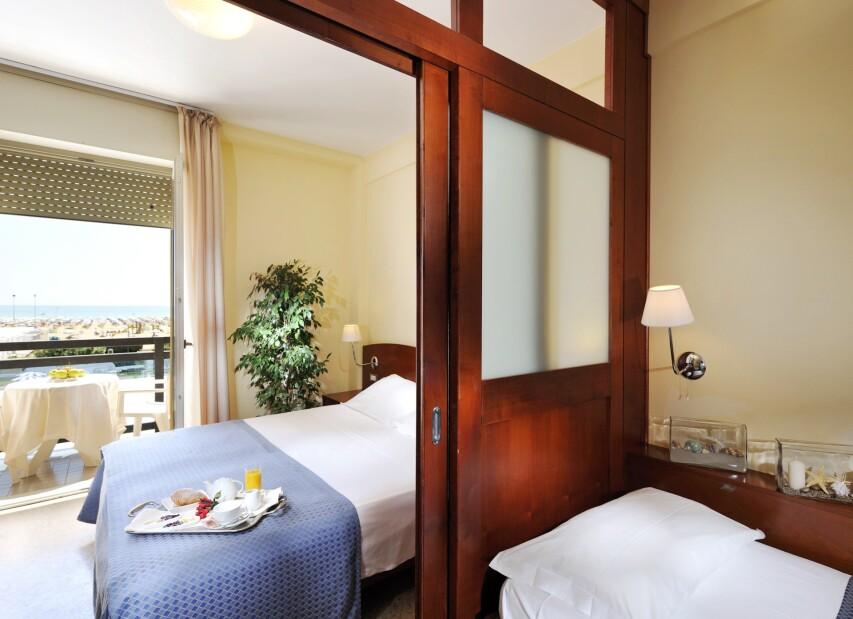 Hotel Palace**** Bibione Spiaggia - pokoj Family