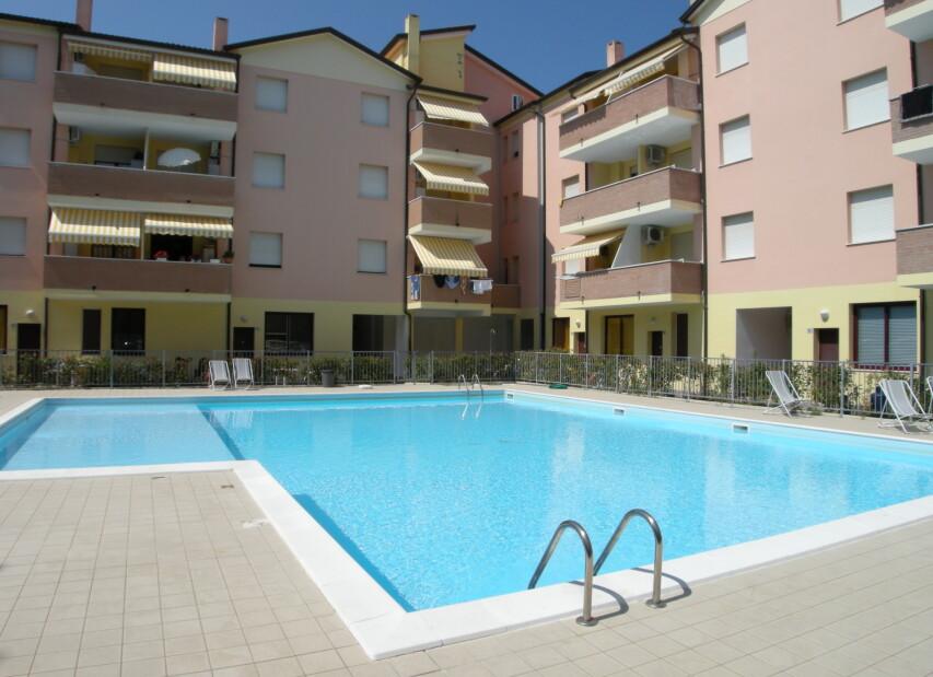 Apartmány Rosolina Mare s bazénem - Acquamarina