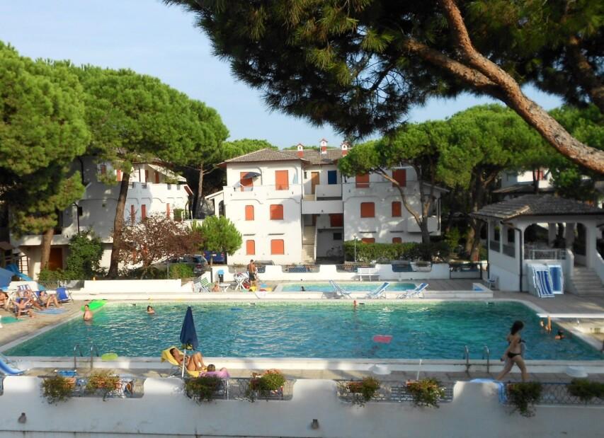 Apartmány Rosolina Mare s bazénem - Sporting