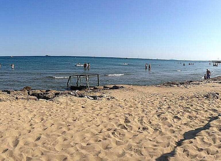 San Felice Circeo, pláž