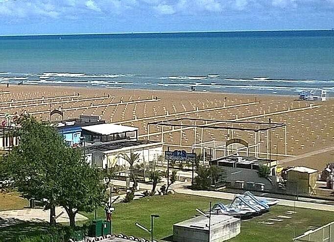 Rimini Miramare je menší, ale zato klidnější