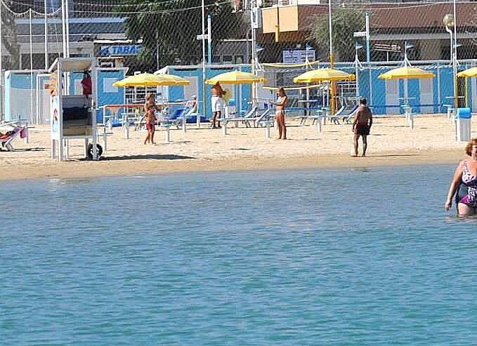 Rimini Viserbella, pozvolný vstup zaručen
