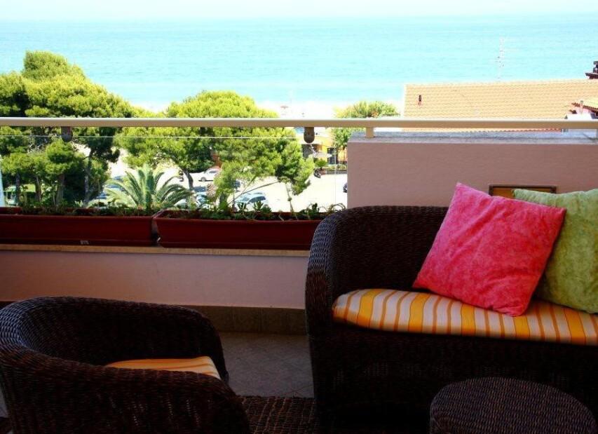 Residence Sea Resort - terasa