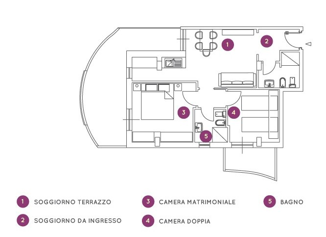Residence Oltremare - trilo C6B