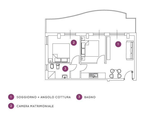 Residence Oltremare - trilo C6C