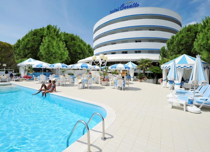 Skvělý hotel Corallo v Bibione