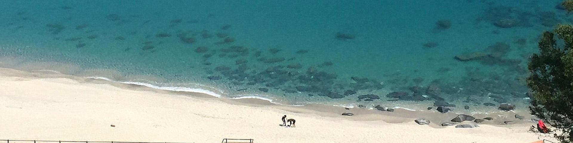 Squillace Lido, krásné písčité pláže a průzračné moře
