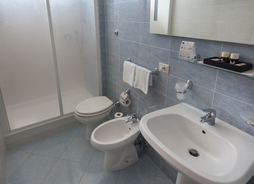 Hotel Villa Margherita*** pokoj Standard příslušenství