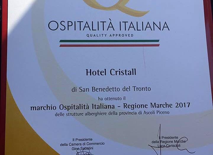 Hotel Cristall - ocenění
