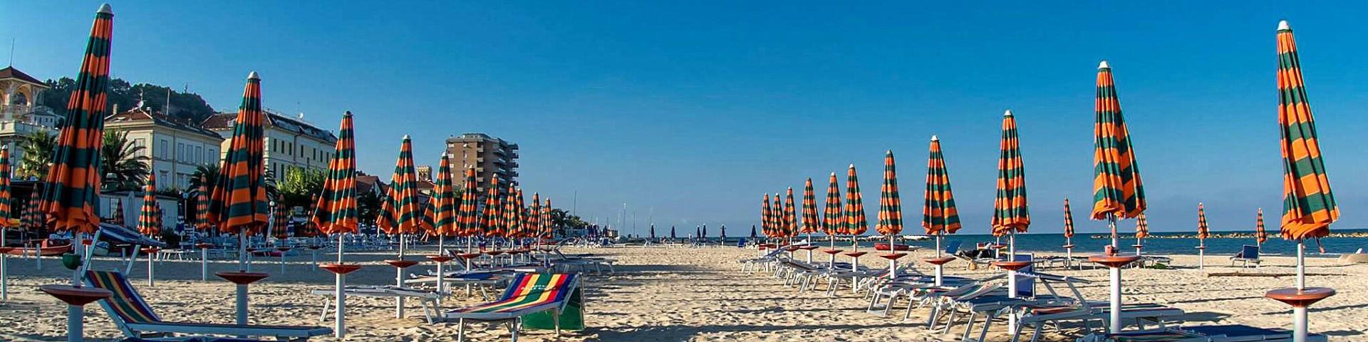 V Cupra Marittima jsou písčité pláže