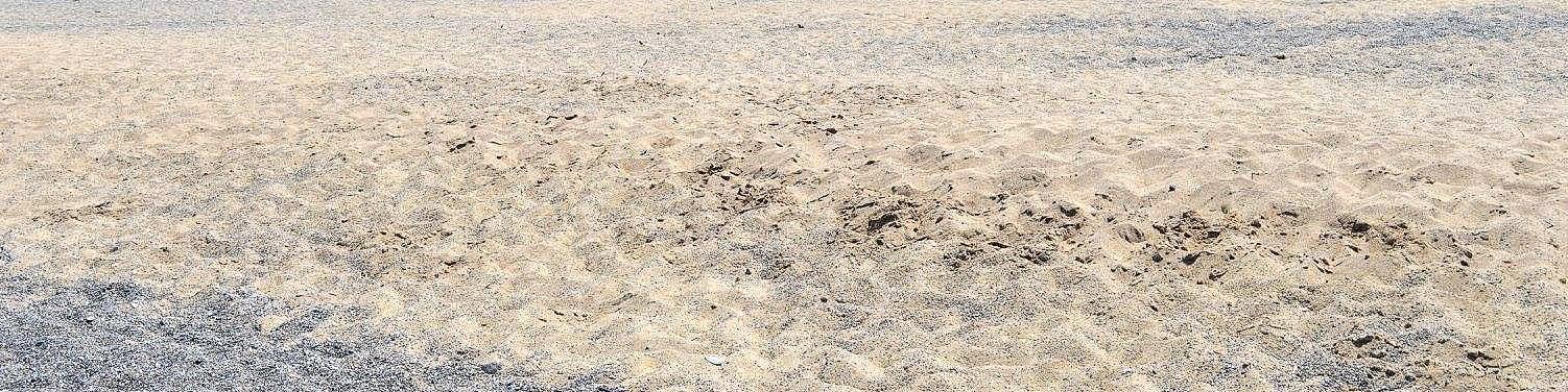 Pizzo Calabro, typ pláže