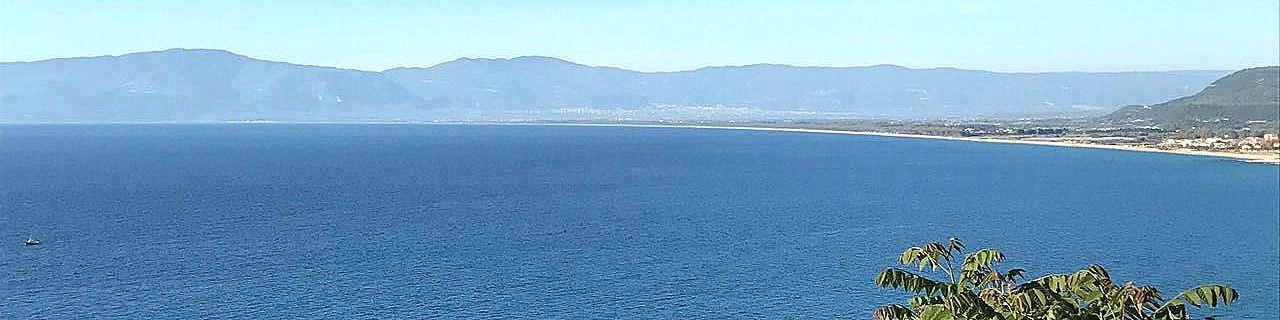 Pizzo Calabro, pohled na celý záliv
