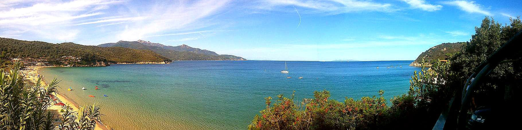 Záliv Biodola, pláž La Biodola