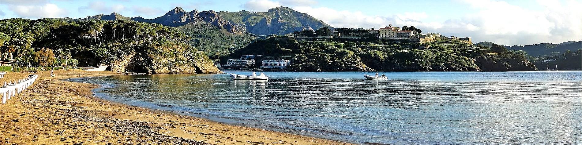 Capoliveri, pláž Naregno
