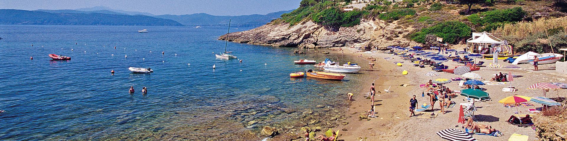 Capoliveri, pláž Madonna delle Grazie