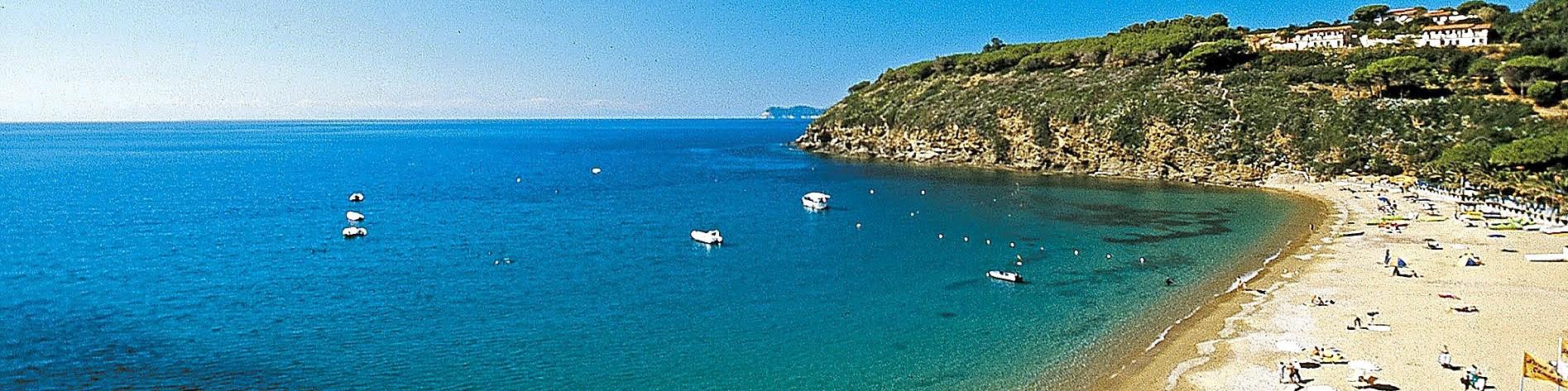Capoliveri, pláž Morcone