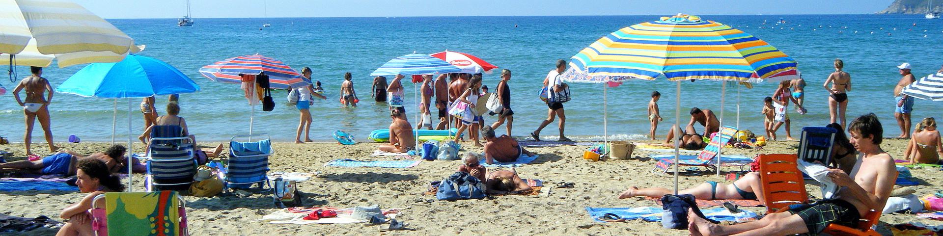 Lacona, písčitá pláž
