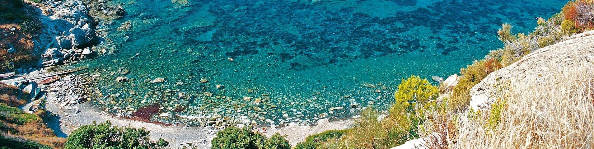Marciana Marina, pláž Ogliera