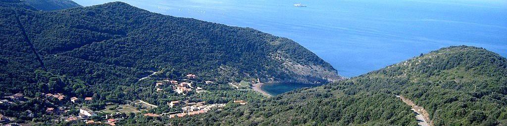 Pohled na celé údolí Nisporto