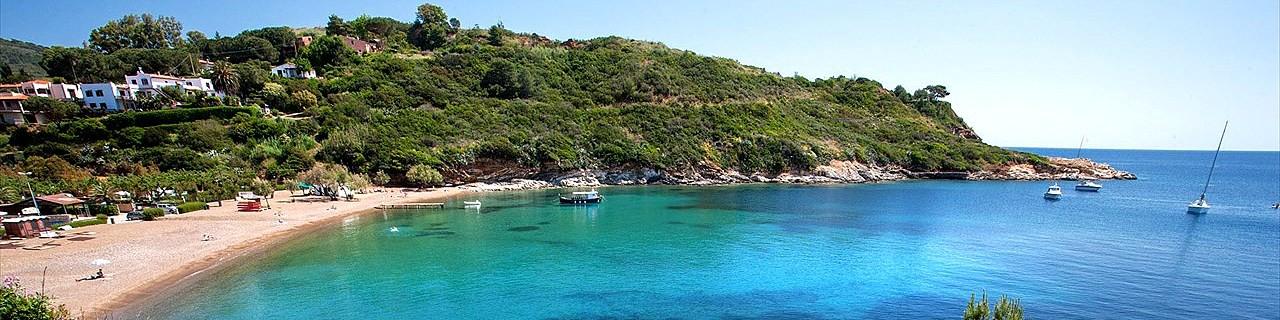 Porto Azzurro, jedna z okolních pláží, pláž Barbarossa