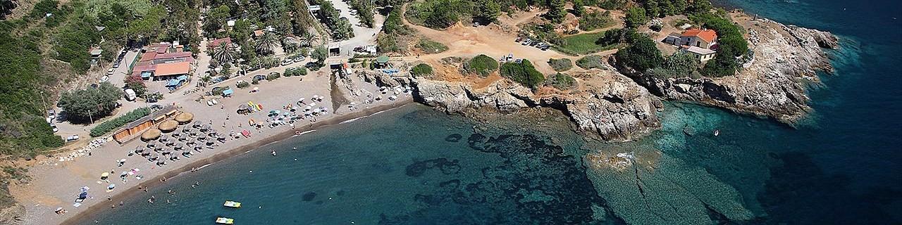Porto Azzurro, jedna z okolních pláží, pláž Reale