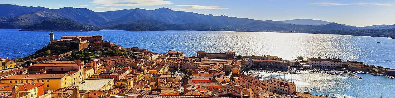 Portoferraio, pevnost a přístav