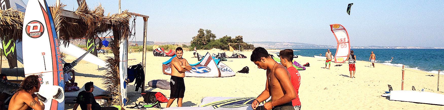 Belcastro Marina, ideální pláž pro kite surfing