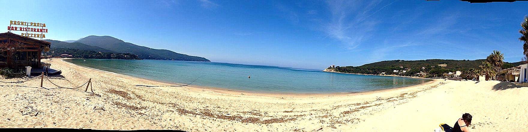 Elba, záliv Procchio