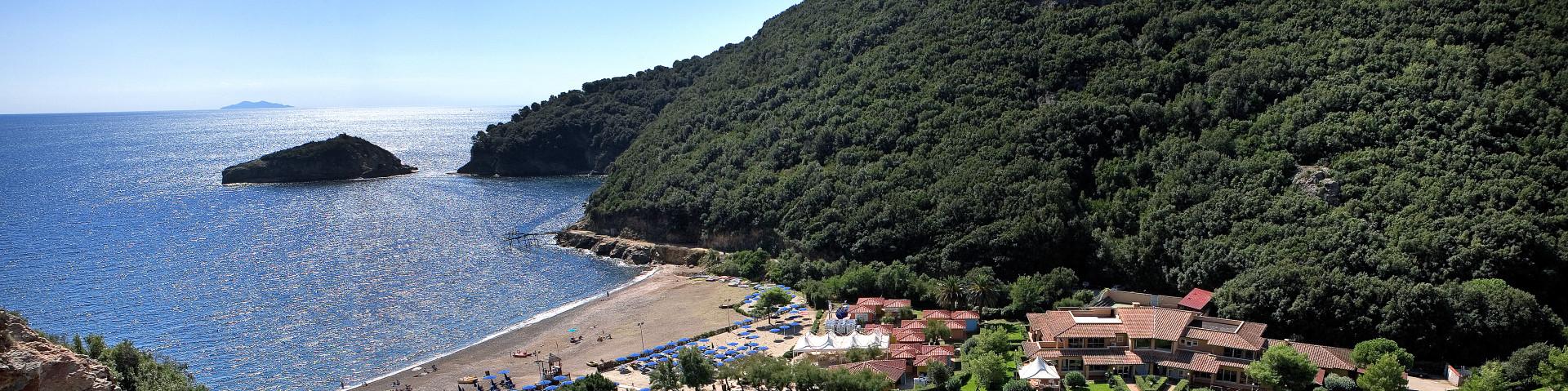 Elba, Rio Marina, v údolí Ortano Mare