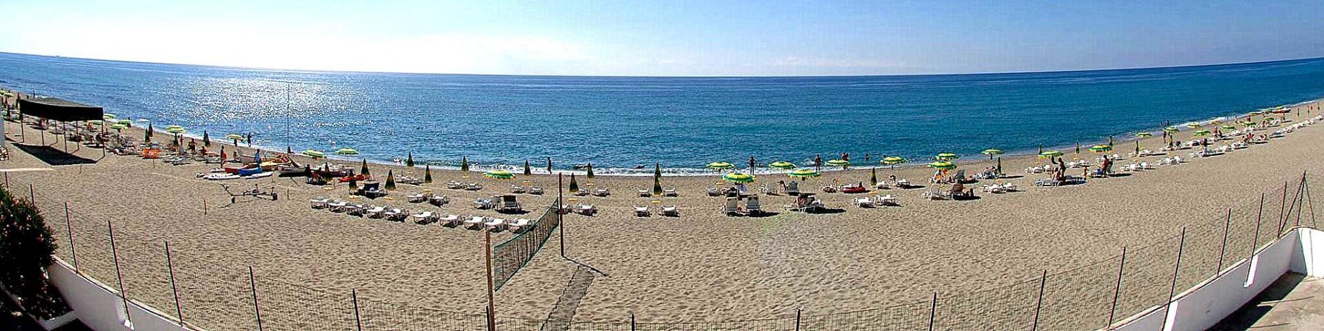 Brancaleone, nádherná pláž a nádherné moře