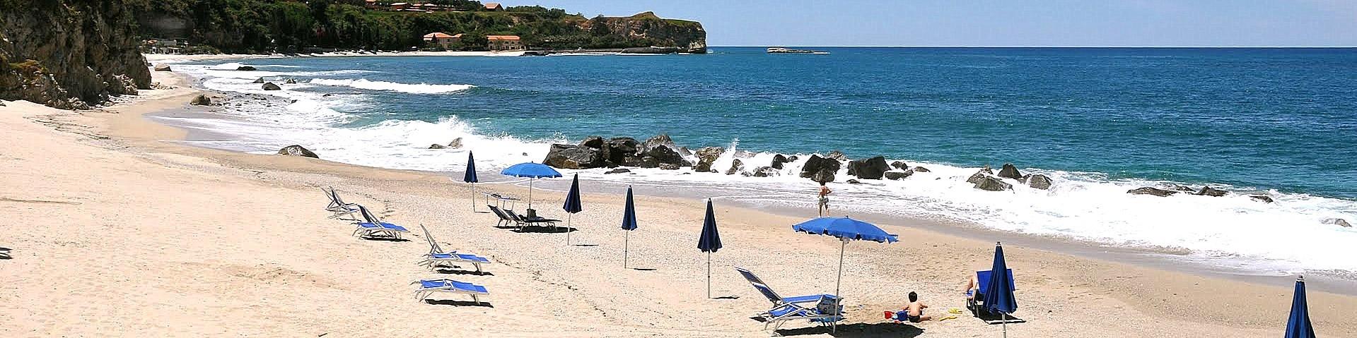 Briatico, pláž Lido San Giuseppe