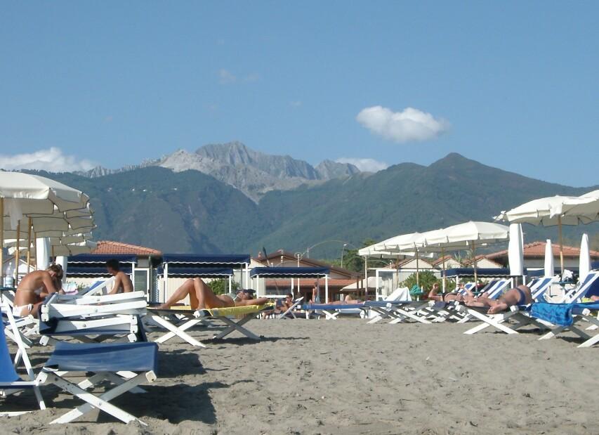 pláž Marina di Massa