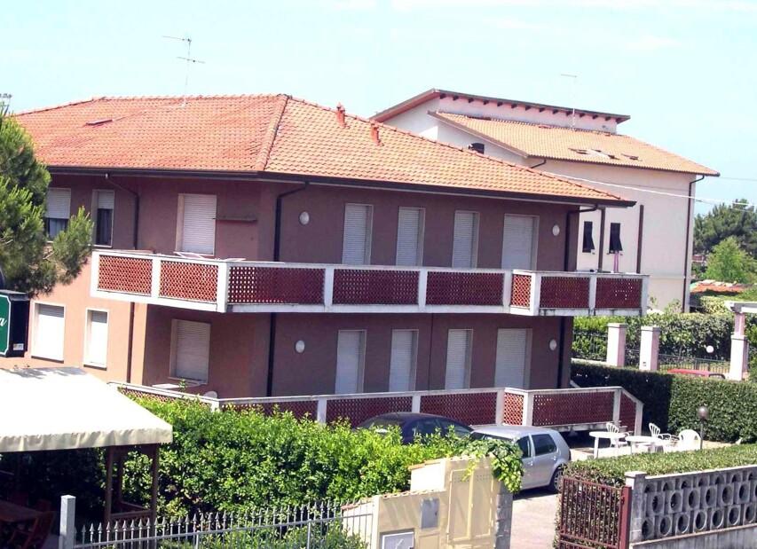 Apartmány Marina di Massa příklad