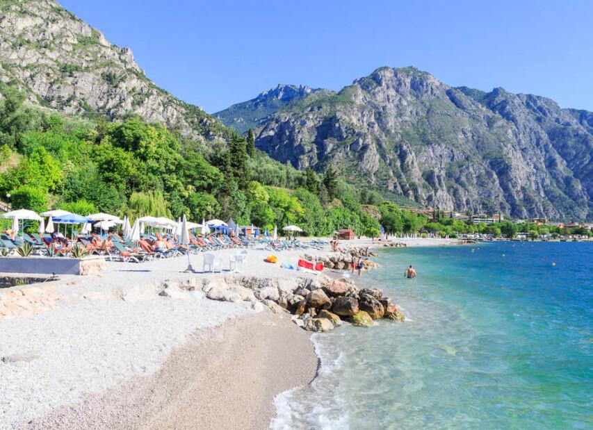 pláž Villa Lucia
