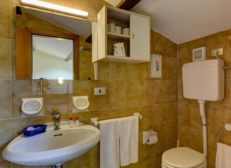pokoj Standard bez balkonu příklad