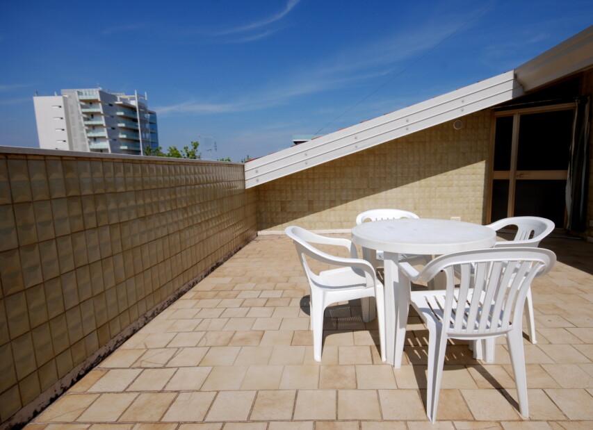 Residence Las Palmas - terasa apartmánu B1