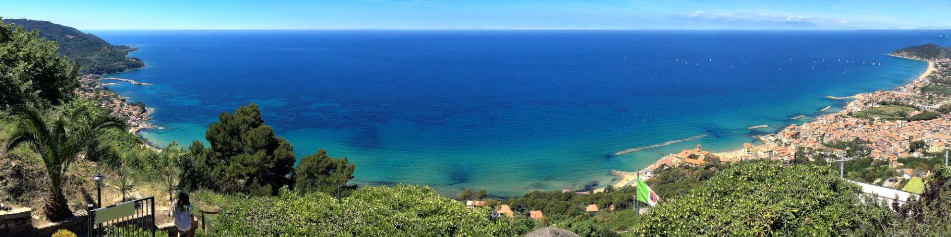 San Marco di Castellabate, celkový pohled na záliv