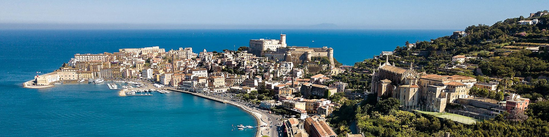 Gaeta, pohled na historické centrum (autor: Daniele Capobianco)