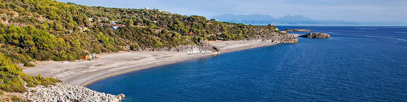 Marina di Camerota, pláž Cala d´Arconte