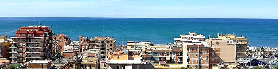 Ladispoli není turistické letovisko, ale normální městečko u moře