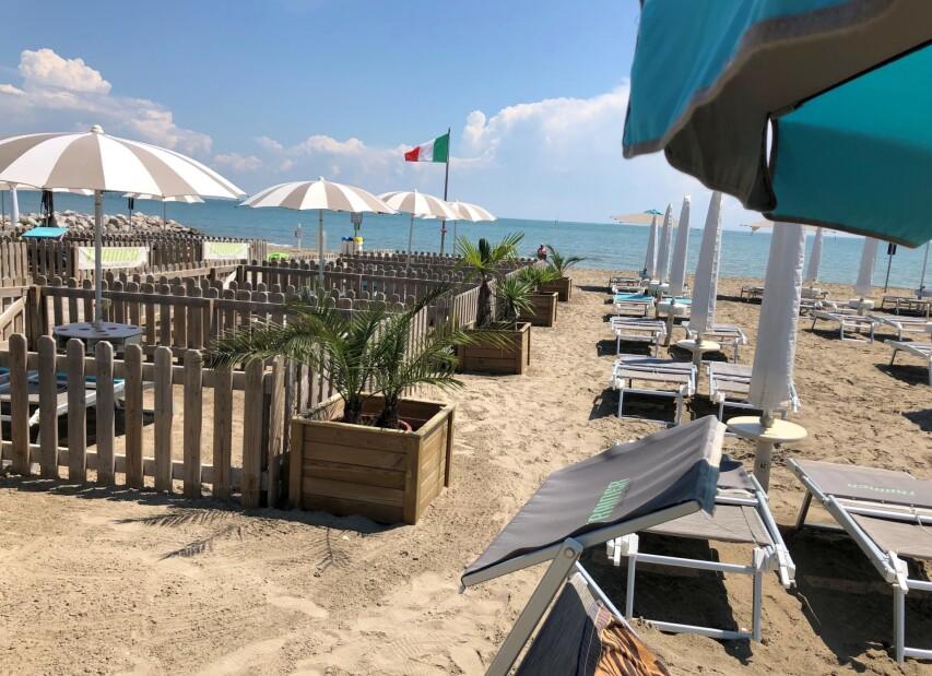 psí pláž Doggy Beach - Lignano Sabbiadoro